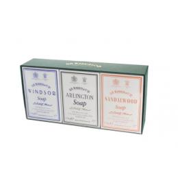 Набор мыла для тела D R Harris Bath Soap Trio (Arlington, Windsor, Sandalwood)