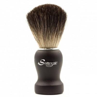 Помазок для бритья Semogue Pharos-C3 Pure Black Badger Black
