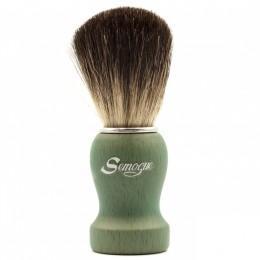 Помазок для бритья Semogue Pharos-C3 Pure Black Badger Ocean Green