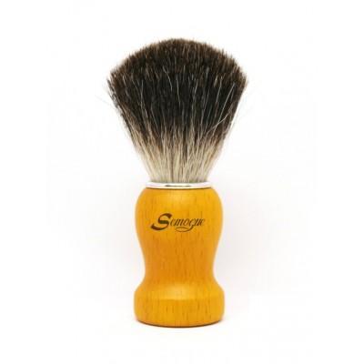 Помазок для бритья Semogue Pharos-C3 Pure Black Badger Yellow