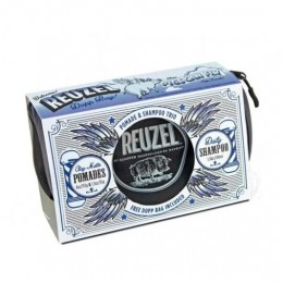 Подарочный Набор Reuzel Pigs Can Fly Dopp Bag Clay Matte Pomade
