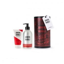 Подарочный набор для ухода за телом и лицом Hawkins & Brimble Body Gift Set (Body Wash, Face Wash)