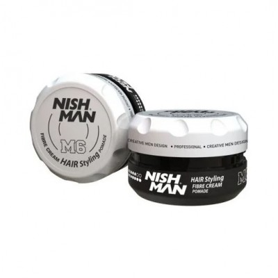 Помада для стилизации волос Nishman Hair Styling Fibre Cream 100 мл