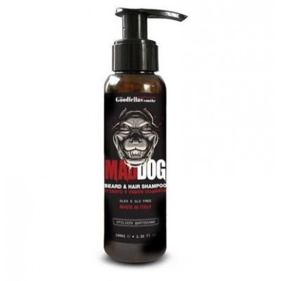 Шампунь для бороды та волос Mad Dog Beard and Hair shampoo, 100 мл