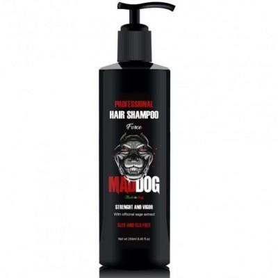 Питательный шампунь для волос Mad Dog Professional Shampoo Force, 250 мл