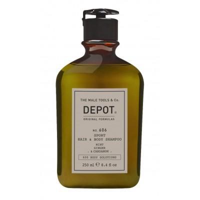 Шампунь 2 в 1 для волос и тела Depot 606 Hair & Body Shampoo 250 мл