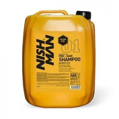 Шампунь для волос Nishman Pro-Hair Shampoo 5000 мл