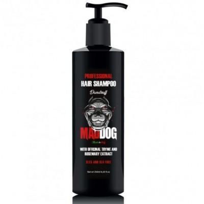 Шампунь для волос против перхоти Mad Dog Professional Shampoo Anti-Dundruff, 250 мл