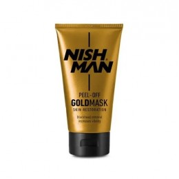 Золотая маска Nishman Peel-Off Gold Mask 150 мл