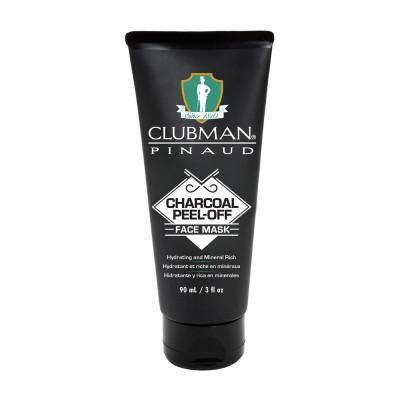 Черная маска для лица Clubman Charcoal Peel-Off Face Mask 90 мл
