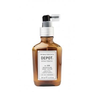 Спрей-лосьон для волос и кожи головы Depot 208, 100 мл