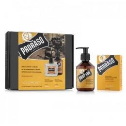 Подарочный набор для бороды Proraso Wood & Spice Duo Pack (Balm + Shampoo)