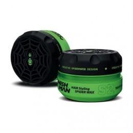 Воск для укладки волос Nishman S2 Hair Styling Wax  Spyder 150 мл