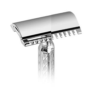 Open/Closed comb safety razor